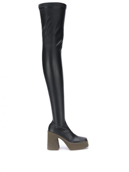 Wysoki buty na platformie na obcasie Stella Mccartney