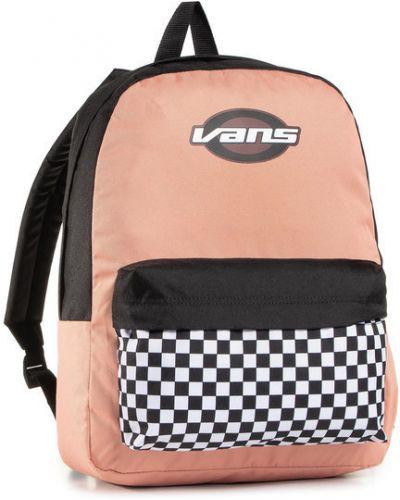 Różowy sport plecak Vans