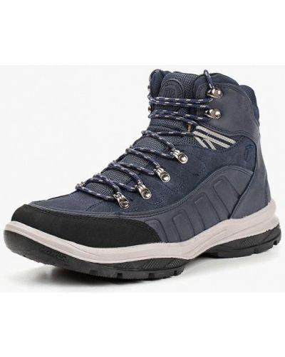 Треккинговые ботинки осенние кожаные Tesoro