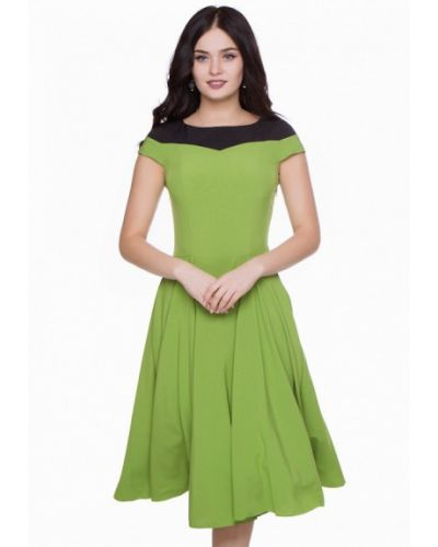 Зеленое коктейльное платье Grey Cat
