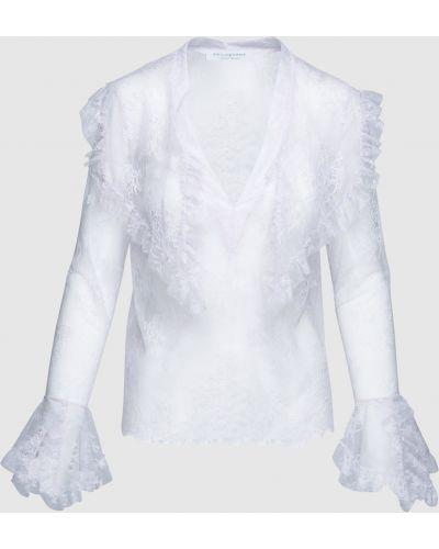Сиреневая кружевная блузка Philosophy Di Lorenzo Serafini