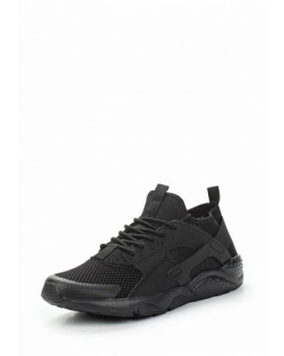Черные кроссовки из искусственной кожи Go.do.
