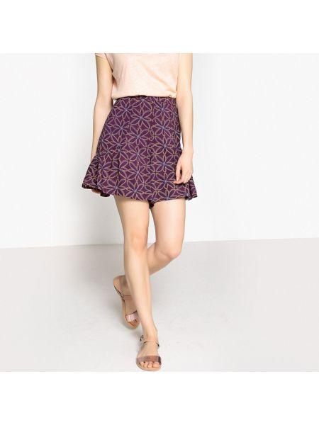 Короткие шорты с оборками La Redoute Collections
