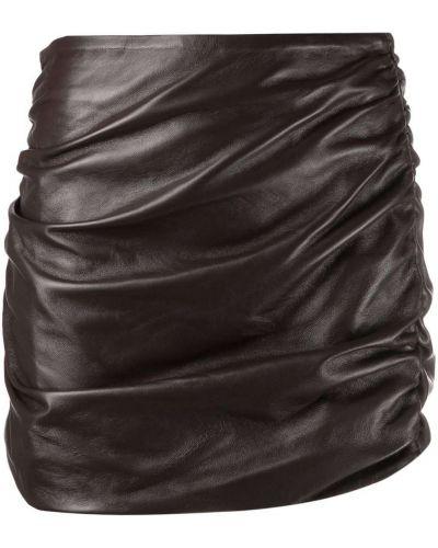 Brązowa spódnica ołówkowa Wandering
