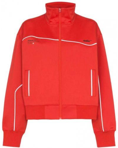 Красная спортивная куртка Ader Error