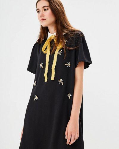 Черное платье прямое Sister Jane