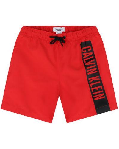 Szorty - czerwone Calvin Klein Swimwear
