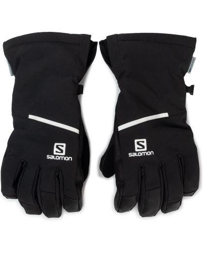 Skórzany rękawiczki wełniany ciepły Salomon