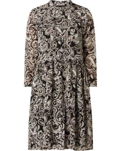 Czarna sukienka mini z szyfonu Jake*s Collection