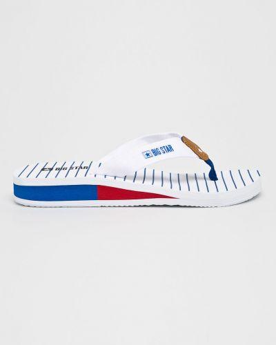 Białe sandały japonki Big Star
