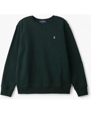 Свитшот зеленый Polo Ralph Lauren