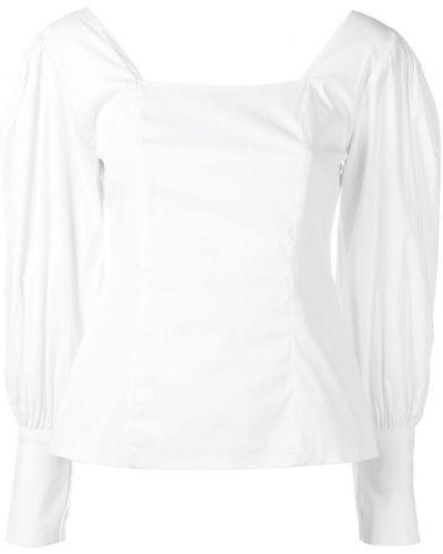 Блузка с длинным рукавом с пышными рукавами с манжетами Federica Tosi