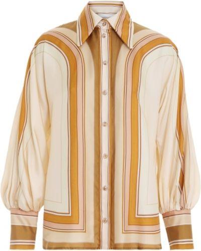Beżowa koszula Zimmermann