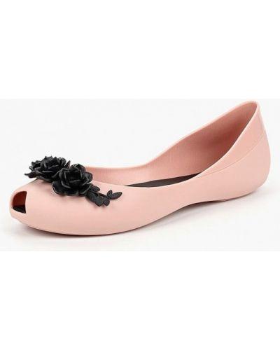 Розовые балетки T.taccardi