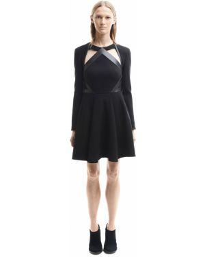 Шерстяное платье David Koma