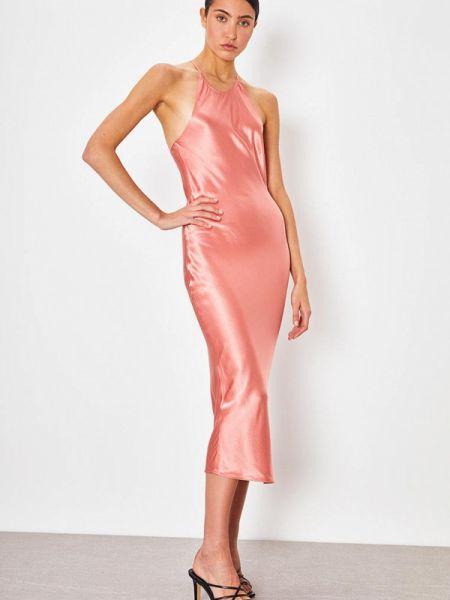 Платье розовое платье-комбинация Lime