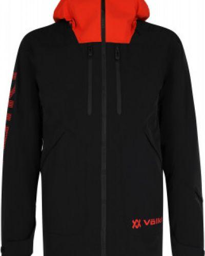 Черная спортивная куртка мембранная на молнии VÖlkl