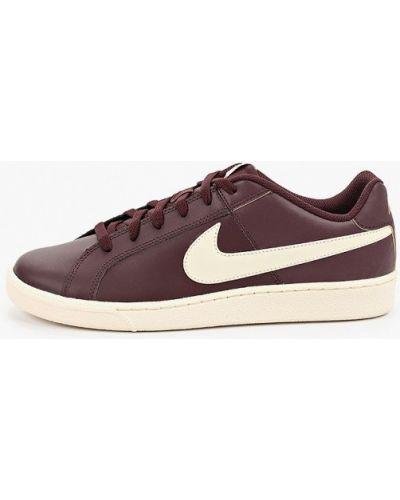 Низкие кеды кожаный натуральный Nike