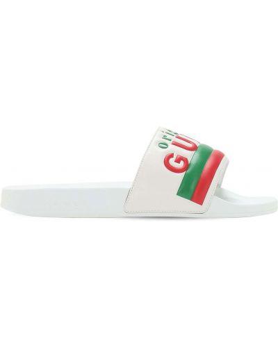 Skórzany sandały Gucci