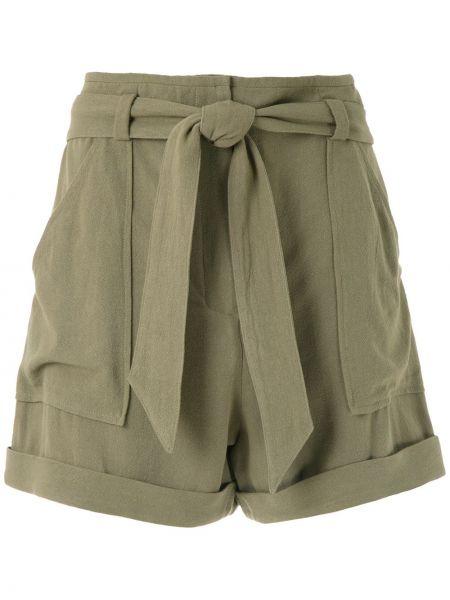 Однобортные шорты с карманами Andrea Marques