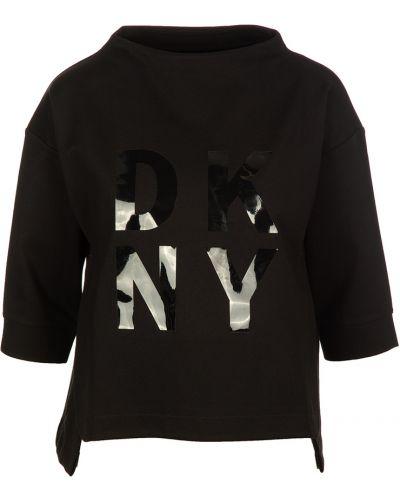 Czarna bluza dresowa Dkny