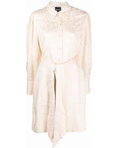 Платье макси с длинными рукавами - бежевое Just Cavalli