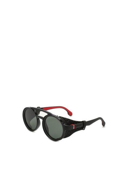Спортивные солнцезащитные очки круглые с завязками со вставками Carrera