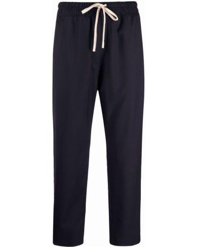 Укороченные брюки - синие Nili Lotan