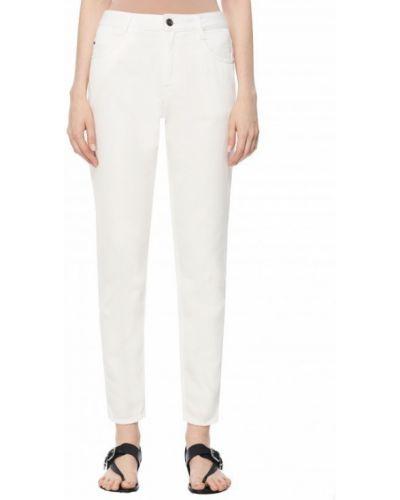 Хлопковые джинсы - белые Barbara Bui