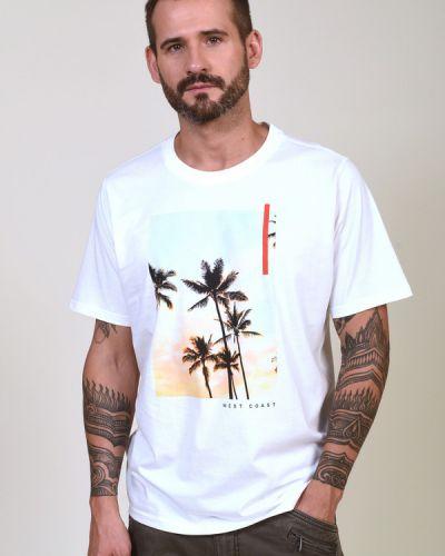 Хлопковая футболка Casa Moda