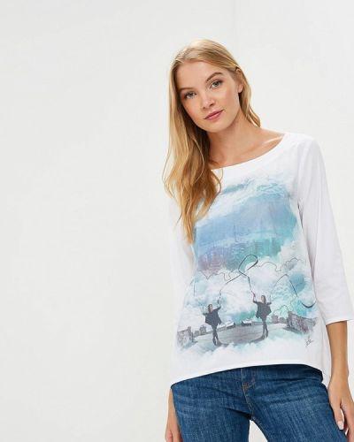 Блузка с длинным рукавом белая весенний Coclo