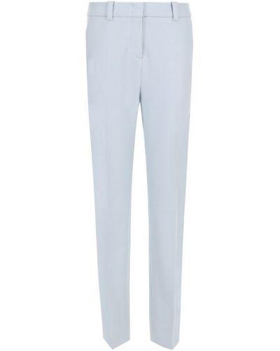 Укороченные однотонные брюки со стрелками Windsor