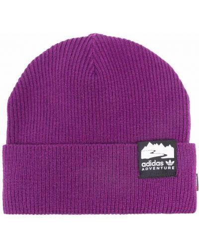 Шапка бини - фиолетовая Adidas