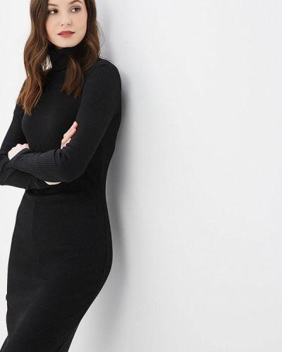 Платье осеннее черное Elena Kulikova