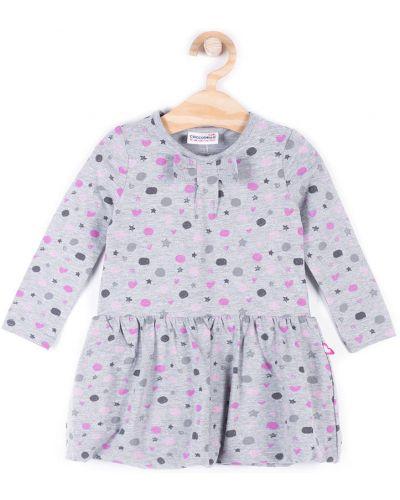 Платье хлопковое расклешенное Coccodrillo