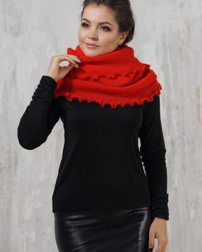 Красный шарф шерстяной Vay