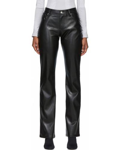 Кожаные брюки - черные Misbhv