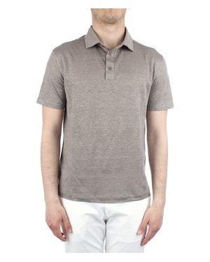 Beżowy t-shirt Cruciani