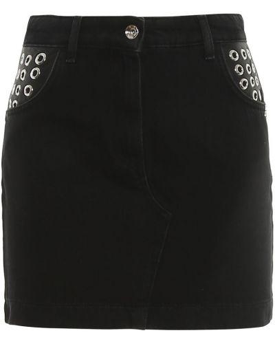 Czarna spódnica jeansowa Patrizia Pepe