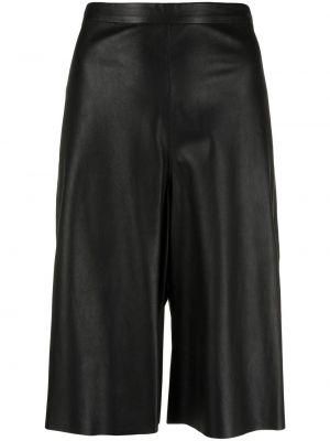 Кожаные шорты - черные Giorgio Brato