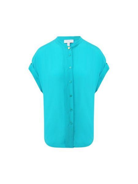 Шелковая блузка - зеленая Escada Sport