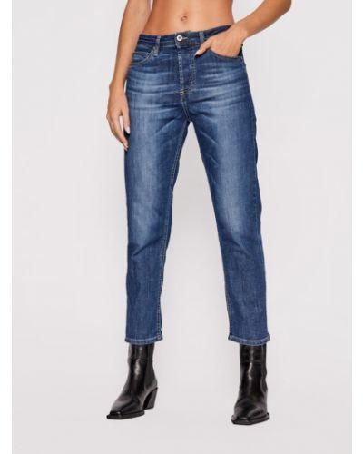 Mom jeans - granatowe Please