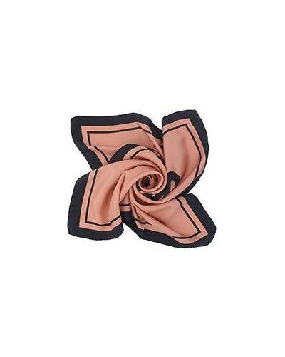 Платок розовый Moschino