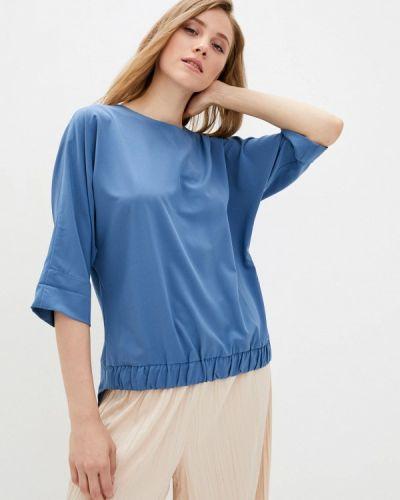 Синяя блузка с длинными рукавами Zubrytskaya