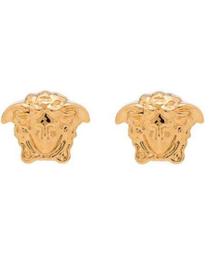 Серьги золотой Versace