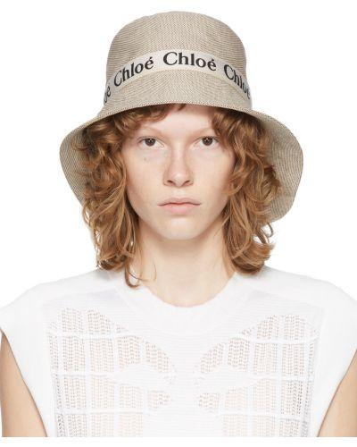 Czarna czapka bawełniana Chloe