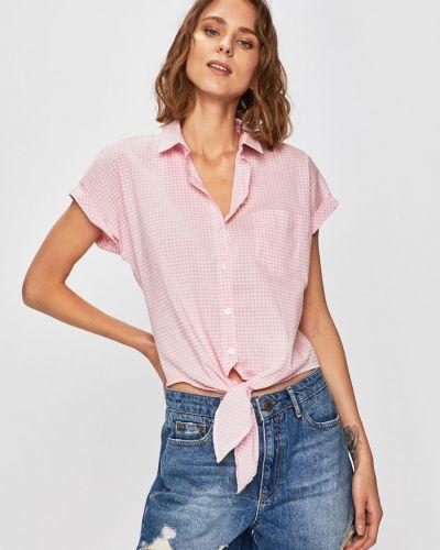 Блузка с коротким рукавом прямая в клетку Answear