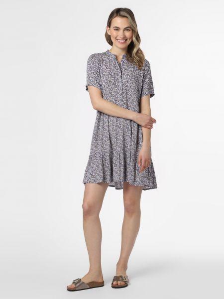 Sukienka w kwiaty z wiskozy z printem Mbym