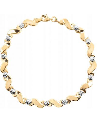 Klasyczna złota bransoletka Goldmark