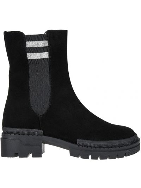 Ботинки на платформе - черные Helena Soretti